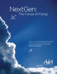 The Future of Flying - Aerospace Industries Association