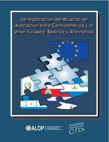 La negociación del Acuerdo de Asociación entre Centroamérica