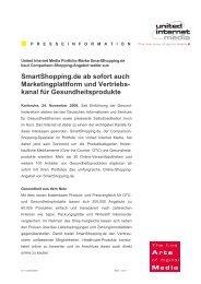 Smartshopping.de ab sofort auch Marketingplattform und Vertriebs ...