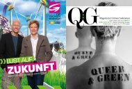 kannst du dir das Magazin Queer & Green downloaden