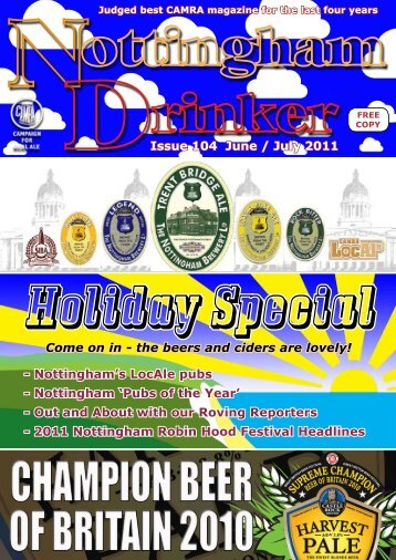June/July 2011 PDF - Nottingham CAMRA