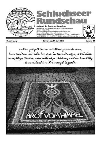 RUndschau Nr. 24.pdf - Gemeinde Schluchsee