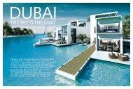 THE SKY IS THE LIMIT - AA properties Dubai