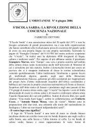 Iscola sarda: revolutzione de sa cuscèntzia natzionale
