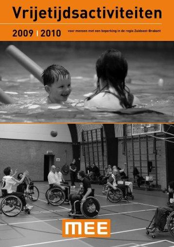 2009 | 2010 voor mensen met een beperking in de regio Zuidoost ...
