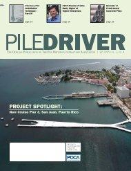 New Cruise Pier 3, San Juan, Puerto Rico - Pile Driving Contractors ...