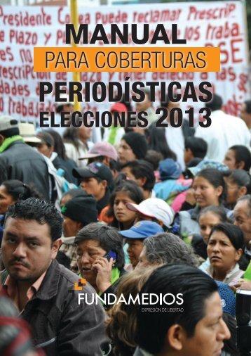 MANUAL PERIODÍSTICAS - Fundamedios