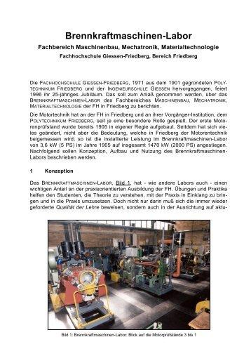 Download - im Fachbereich Maschinenbau, Mechatronik ...