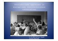 Yhteisöllinen oppiminen ja sosiaalisen ... - Edutool-wiki