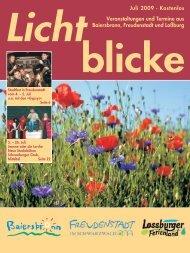 Mit dem Zeichen »Linde« nach Lombach (9 km) - Gemeinde ...