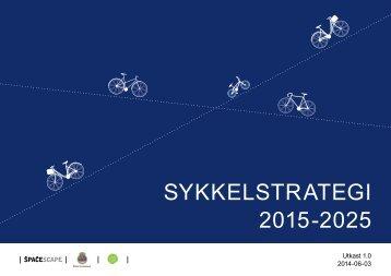 Forslag sykkelstrategi