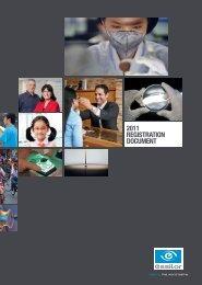 2011 REGISTRATION DOCUMENT - Essilor