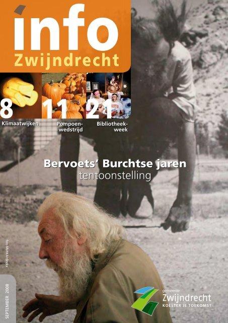 Bervoets' Burchtse jaren tentoonstelling - Gemeente Zwijndrecht