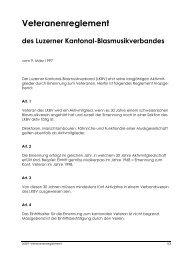 Reglement_Veteranen_1999 - Luzerner Kantonal-Blasmusikverband