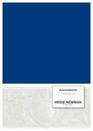 Halbjahresbericht 2010 - Hesse Newman