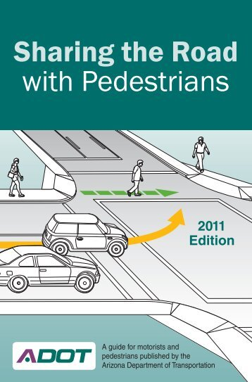 Sharing the Road with Pedestrians - ADOT Bicycle & Pedestrian ...