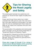 Sharing the Road with Pedestrians - ADOT Bicycle & Pedestrian ... - Page 3