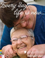 2012 Annual Report - Lutheran Social Services of Illinois
