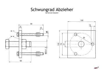 Schwungrad Abzieher - XZ550.de