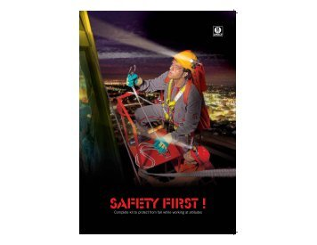 SAFETY FIRST ! - Mark Safety appliances