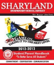 English Handbook 2012.indd - Sharyland ISD