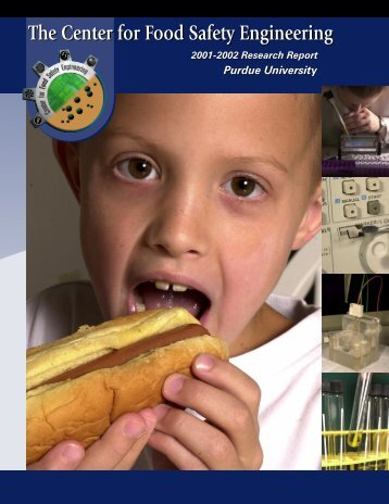 2002 Annual Report - Center for Food Safety Engineering - Purdue ...
