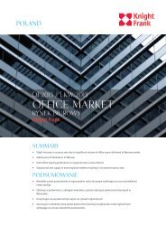 Poland: Office market report Q1 2013 - Knight Frank