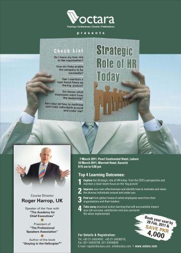Marketings role organization