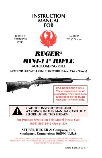 Winchester Model 70 Bolt Action Rifle Owners Manual