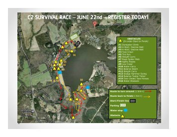 course map - YMCA of Greater Charlotte