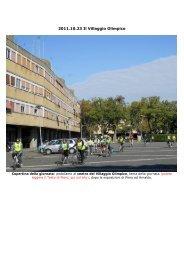 2011.10.23 Il Villaggio Olimpico - VediRomaInBici