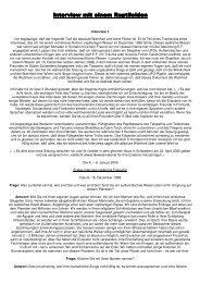 Reptiloiden-Interview - Wiesenfelder.de