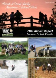 2011 Annual Report - Friends of the Smokies