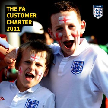 the fa customer charter 2011 - The Football Association