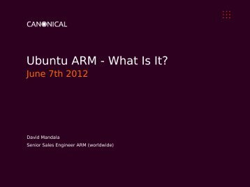 Ubuntu ARM - What is is - The Linux Foundation