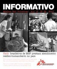 Haiti: brasileiros de MSF prestam atendimento médico-humanitário ...