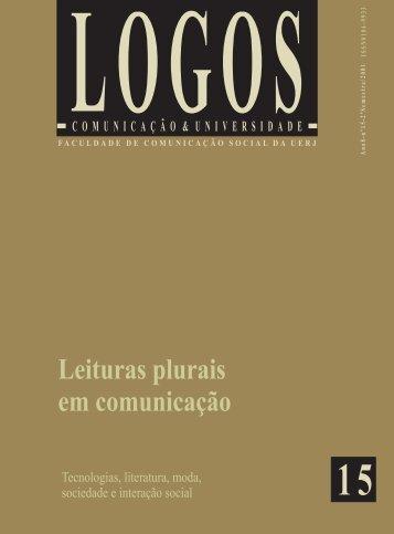 Logos 15 - altera..es Gisela.pmd - Logos - Uerj