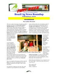 Brazil Ag News Roundup - The Iowa Soybean Association