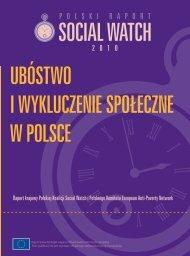 Ubóstwo i wykluczenie społeczne w Polsce - Kampania Przeciw ...