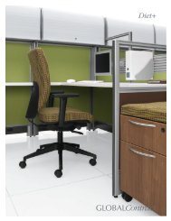 Diet+ GLOBALContract - Stor Office Furniture