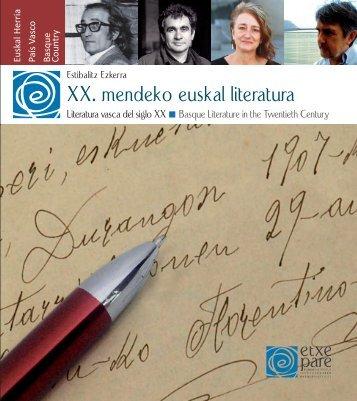 XX. mendeko euskal literatura - Etxepare, Euskal Institutua