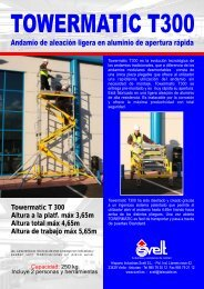 Ficha técnica Towermatic T300 - Logismarket