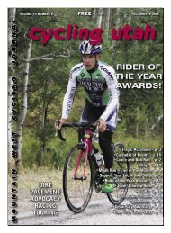 October 2005 Issue - Cycling Utah