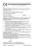 PA5360 & PA5860 Series - GERMAN Operator Manual - McConnel - Seite 5