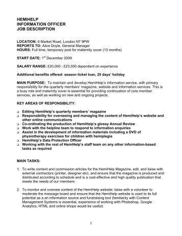 Job description pa to chief executive office manager - Job description for chief executive officer ...