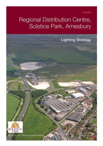 Regional Distribution Centre, Solstice Park, Amesbury - Planning ...