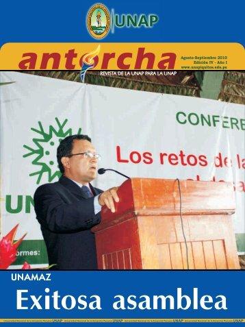 Antorcha IV - Universidad Nacional de la Amazonía Peruana