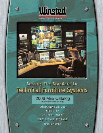 2006 Mini Catalog - Winsted Corporation