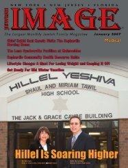 January 2007 - Image Magazine - Hillel Yeshiva School