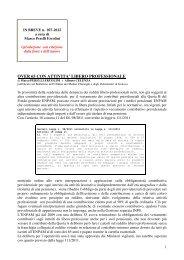 scarica le brevia num° 27 del 2012 - PERELLIERCOLINI.it